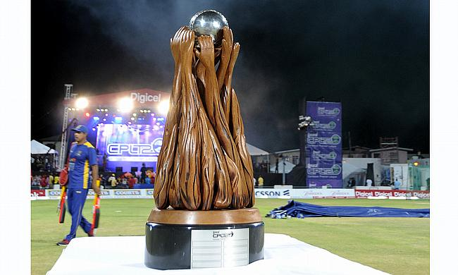 Caribbean Premier League trophy