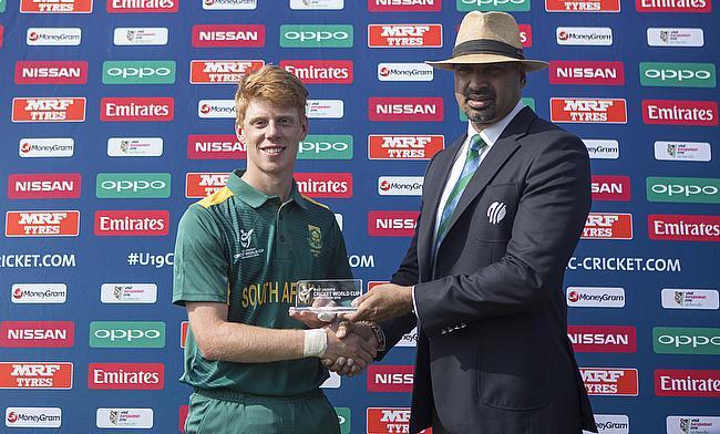 Kyle Verreynne scored a match-winning 77 for South Africa.