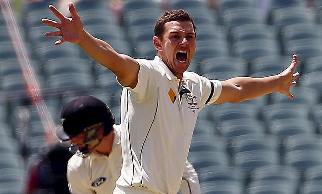 Hazlewood, Siddle put Australia in dominant position on green track