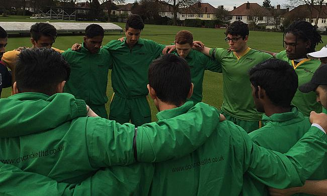 Chris Gayle Academy members pay their respects