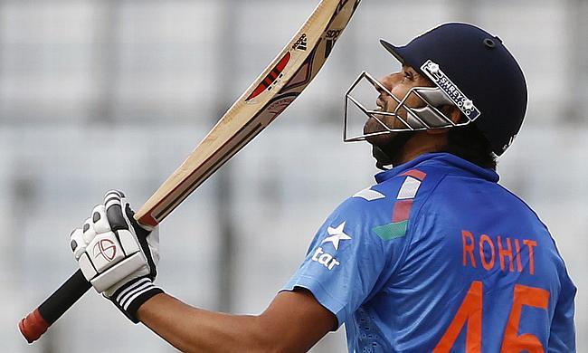 Rohit Sharma powers Mumbai Indians to the second spot