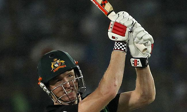 Glad to have worn a new helmet - George Bailey after being hit in IPL