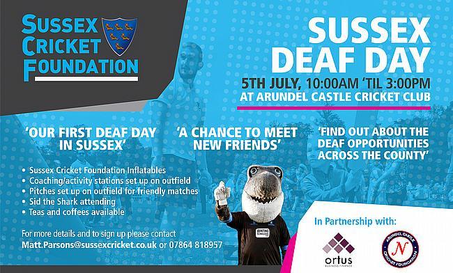 Arundel Castle to host Deaf Cricket Day