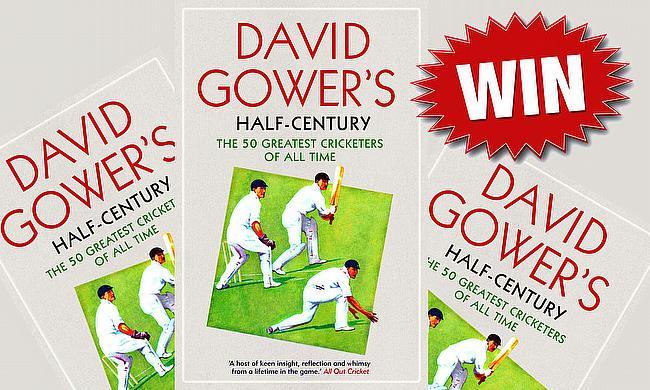 Win a copy of 'David Gower's Half-Century'