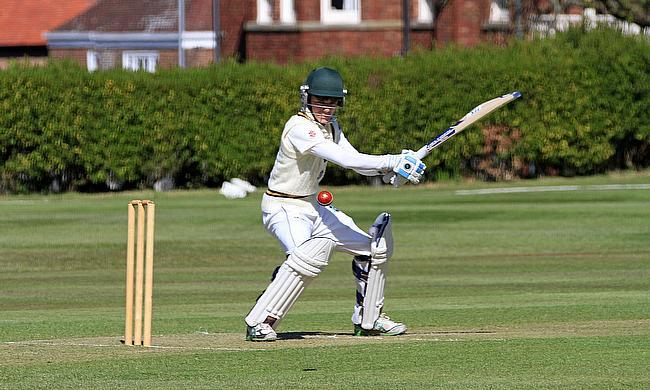 Will Sissons, Wales U15 captain, batting at Rydal Penrhos School