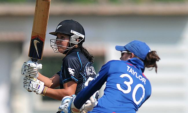 Sara McGlashan (pictured here batting as Sarah Taylor keeps wicket) will feature for Sussex this summer