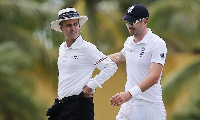 Billy Bowden (left) has officiated in 308 international games overall.