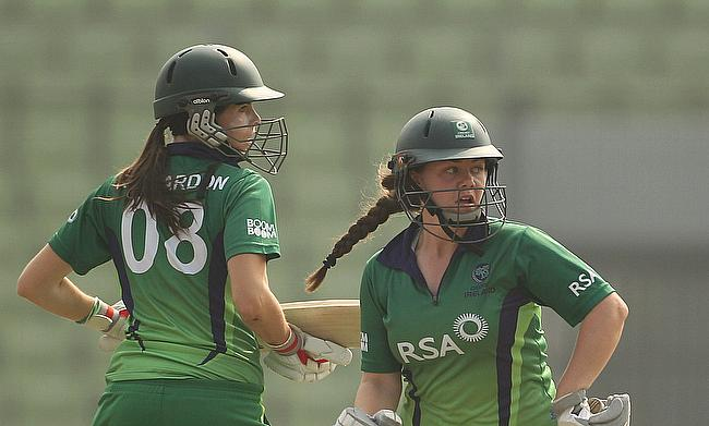 Laura Delany (right) will captain Ireland in both the series against South Africa.