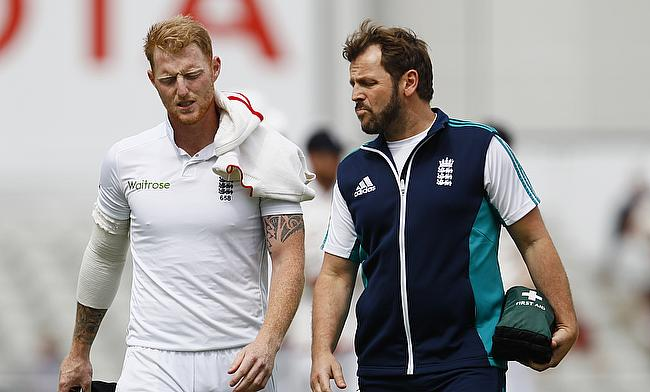 Ben Stokes (left) also underwent a surgery in May to treat a cartilage tear in his left knee which forced him to miss the first Test.