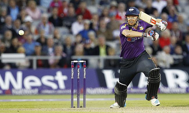 Jonny Bairstow in action for Yorkshire