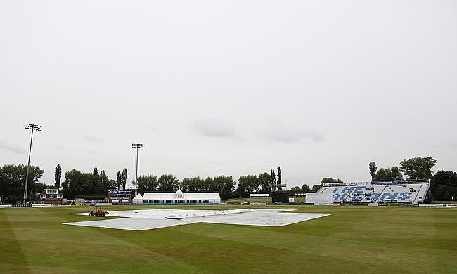View of Derbyshire's home ground in Derby