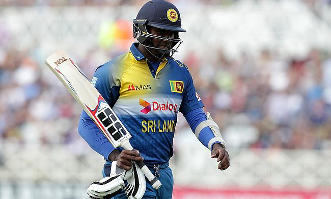 Angelo Mathews retired midway through the innings in the fourth ODI and later returned back to bat with pain in the fourth ODI