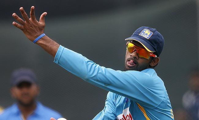 Senanayake fined for Warner send-off