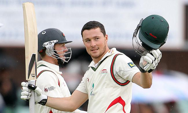 Greg Smith (right) joined Nottinghamshire from Leicestershire in 2015.