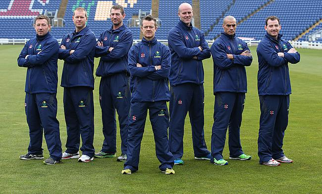 Toby Radford (centre) has worked with West Indies team previously during the 2012 World T20.