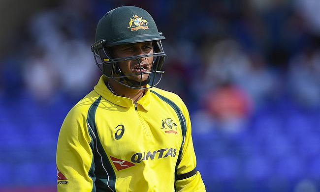 Usman Khawaja scored an unbeaten 82 off 77 deliveries in the chase.