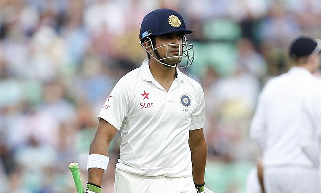 Gautam Gambhir replaces Lokesh Rahul for New Zealand Tests