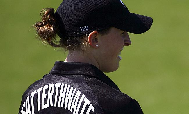 Amy Satterthwaite won the player of the series