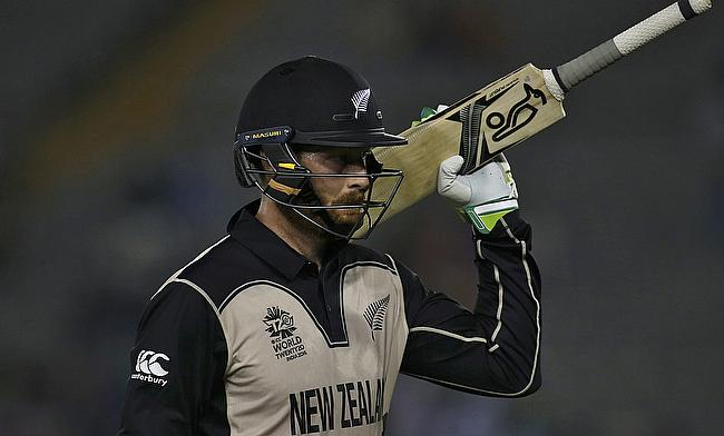 Martin Guptill was named the man of the match for his knock