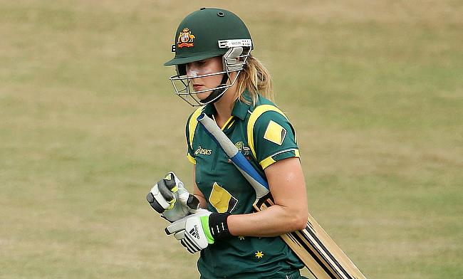Ellyse Perry had an outstanding series with both bat and the ball