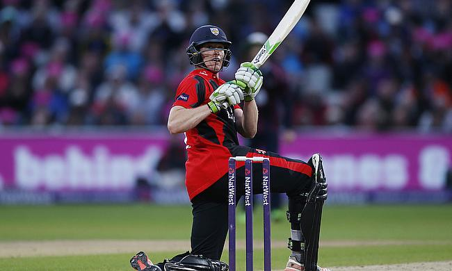 Keaton Jennings in action for Durham