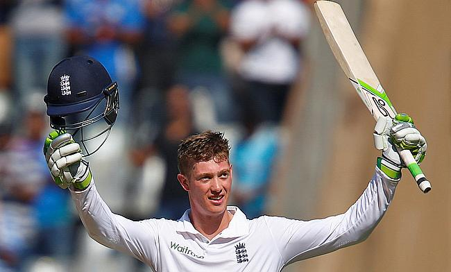 England hold advantage on day one after Jennings maiden century