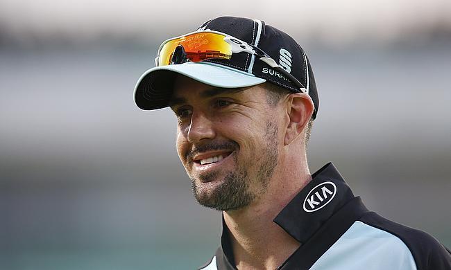Kevin Pietersen scored an unbeaten 44 in the chase