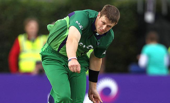 Boyd Rankin will miss the ODI series against UAE