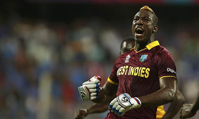 Andre Russell's ban ends on 30th January 2018