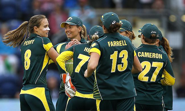 Ellyse Perry (left) returns to Australia squad