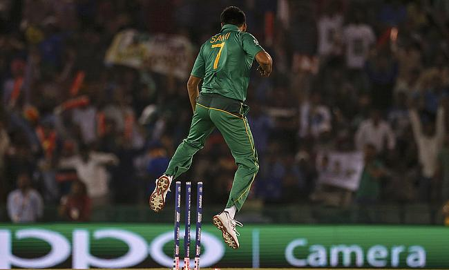 Mohammad Sami conceded just three runs in the final over