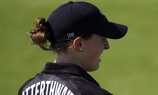 Amy Satterthwaite scored a century and also picked a wicket