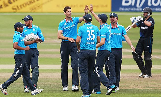 Colin de Grandhomme (right) is set to make his Natwest T20 Blast debut