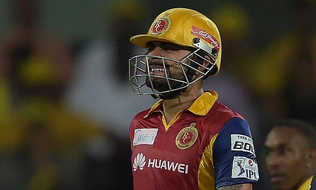 Virat Kohli was dismissed for a first ball duck