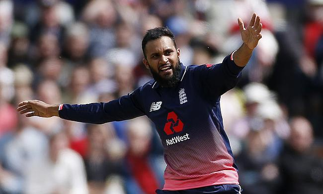 Adil Rashid picked his maiden five-wicket haul in ODIs