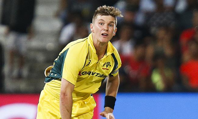 Adam Zampa picked two wickets in the game
