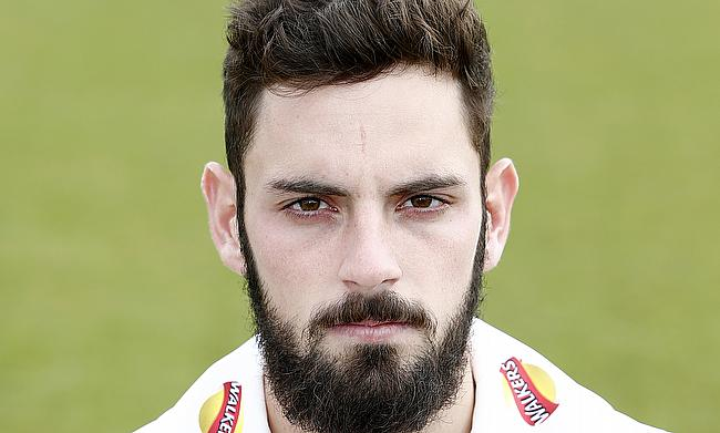 Ned Eckersley scored 158 runs for Leicestershire