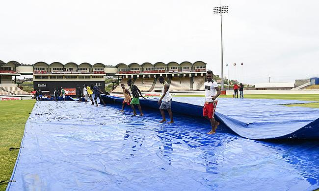 Rain plays spoilsport in series decider to jeopardize Windies World Cup qualification