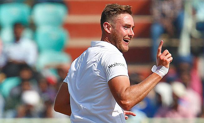 Stuart Broad is currently recovering from a heel injury