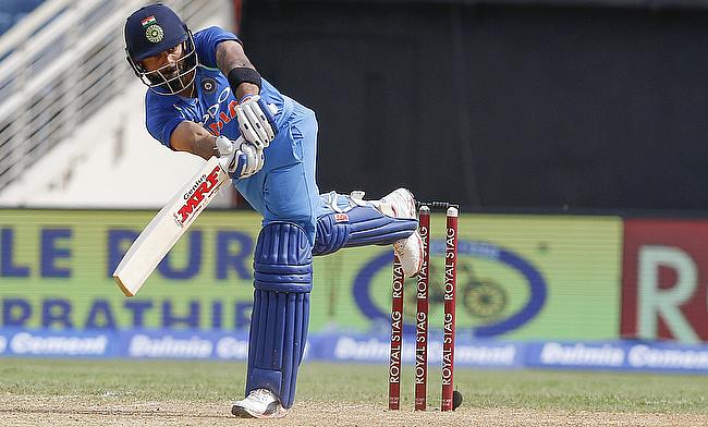 Virat Kohli notched an unbeaten century to see India through the chase in the fifth ODI