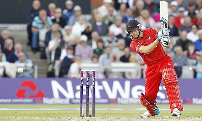 Jos Buttler scored a quick half century for Lancashire