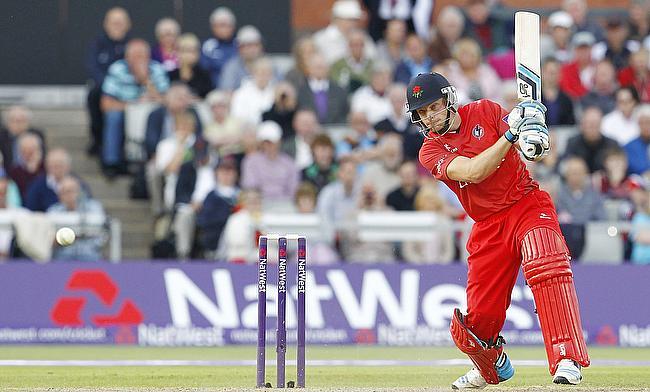 Jos Buttler scored 28 runs off 18 deliveries for Lancashire