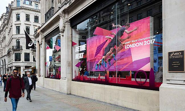 ASICS Opens its Largest State Of  The Art Flagship Store On London's Regent Street