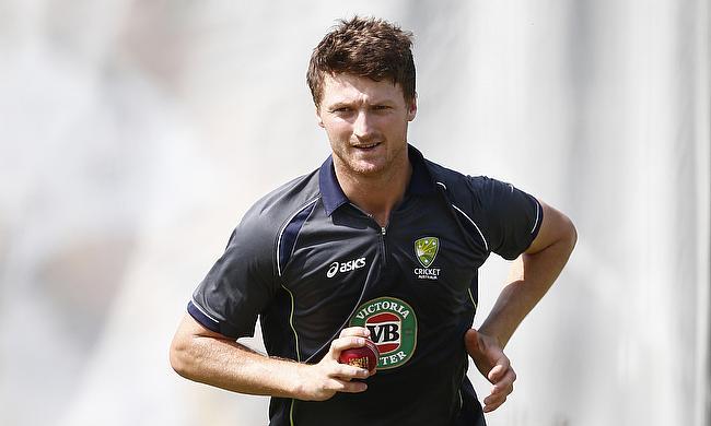 Jackson Bird last featured for Australia in December last year