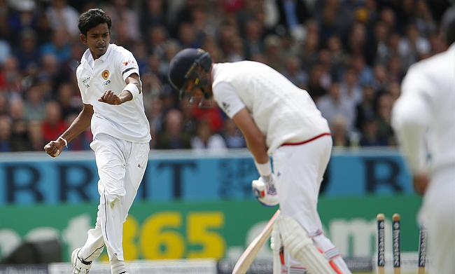 Dushmantha Chameera (left) returns to Sri Lanka squad