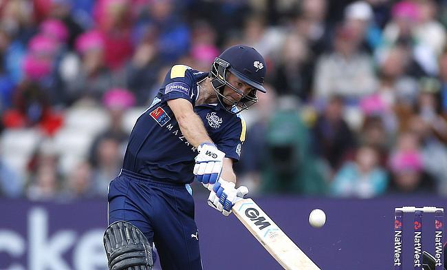Adam Lyth registered the highest individual score in Natwest T20 Blast
