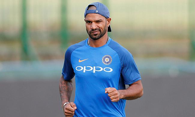 Shikhar Dhawan is expected to return for the final two games