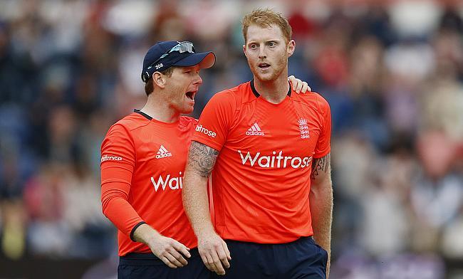 Eoin Morgan (left) believes Ben Stokes will benefit from the break