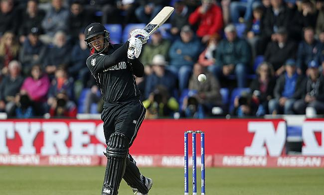 Ross Taylor scored 102 off 83 deliveries
