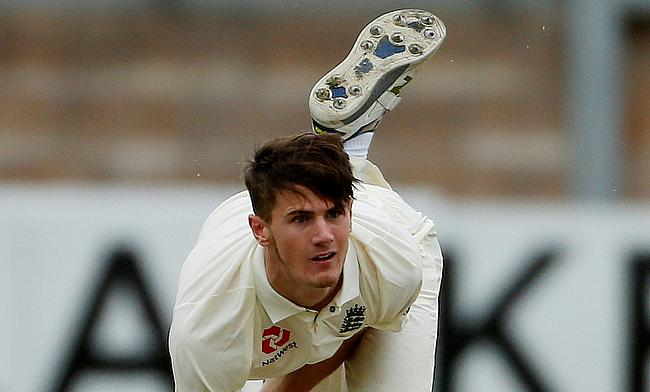 George Garton made his first-class debut with Sussex in 2016
